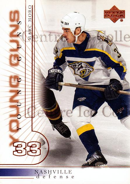 2000-01 Upper Deck #418 Marc Moro<br/>6 In Stock - $3.00 each - <a href=https://centericecollectibles.foxycart.com/cart?name=2000-01%20Upper%20Deck%20%23418%20Marc%20Moro...&price=$3.00&code=228412 class=foxycart> Buy it now! </a>