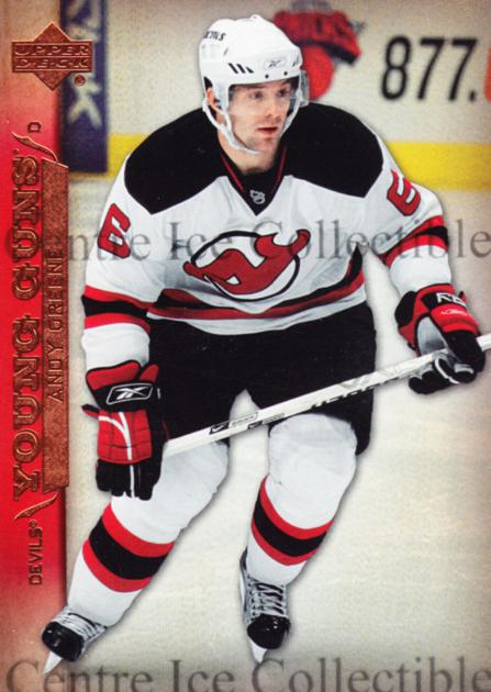 2007-08 Upper Deck #231 Andy Greene<br/>6 In Stock - $5.00 each - <a href=https://centericecollectibles.foxycart.com/cart?name=2007-08%20Upper%20Deck%20%23231%20Andy%20Greene...&quantity_max=6&price=$5.00&code=228473 class=foxycart> Buy it now! </a>