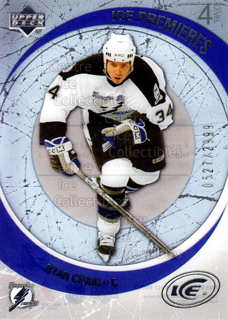 2005-06 UD Ice #246 Ryan Craig<br/>5 In Stock - $3.00 each - <a href=https://centericecollectibles.foxycart.com/cart?name=2005-06%20UD%20Ice%20%23246%20Ryan%20Craig...&quantity_max=5&price=$3.00&code=228487 class=foxycart> Buy it now! </a>