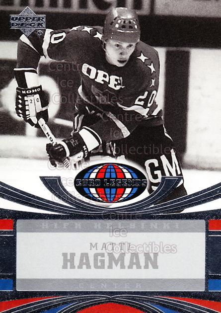 2004-05 UD All World #106 Matti Hagman<br/>4 In Stock - $2.00 each - <a href=https://centericecollectibles.foxycart.com/cart?name=2004-05%20UD%20All%20World%20%23106%20Matti%20Hagman...&quantity_max=4&price=$2.00&code=228504 class=foxycart> Buy it now! </a>