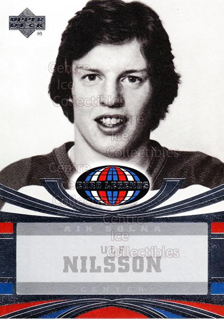 2004-05 UD All World #110 Ulf Nilsson<br/>11 In Stock - $2.00 each - <a href=https://centericecollectibles.foxycart.com/cart?name=2004-05%20UD%20All%20World%20%23110%20Ulf%20Nilsson...&quantity_max=11&price=$2.00&code=228506 class=foxycart> Buy it now! </a>