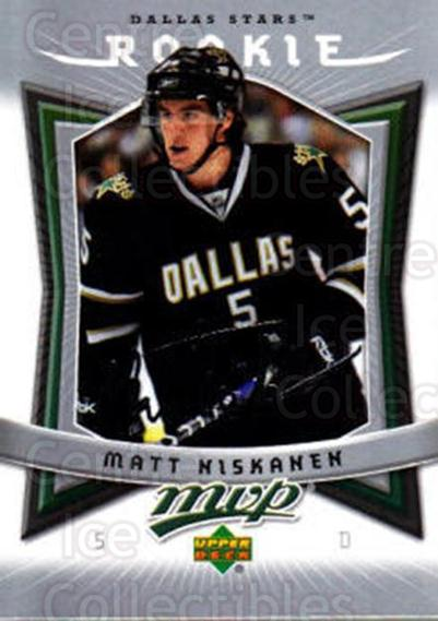 2007-08 Upper Deck MVP #372 Matt Niskanen<br/>10 In Stock - $3.00 each - <a href=https://centericecollectibles.foxycart.com/cart?name=2007-08%20Upper%20Deck%20MVP%20%23372%20Matt%20Niskanen...&quantity_max=10&price=$3.00&code=228619 class=foxycart> Buy it now! </a>