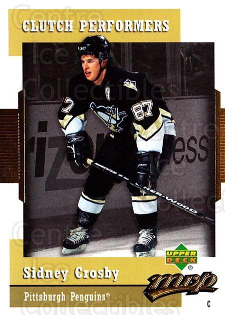 2006-07 Upper Deck MVP Clutch Performers #22 Sidney Crosby<br/>2 In Stock - $5.00 each - <a href=https://centericecollectibles.foxycart.com/cart?name=2006-07%20Upper%20Deck%20MVP%20Clutch%20Performers%20%2322%20Sidney%20Crosby...&quantity_max=2&price=$5.00&code=228666 class=foxycart> Buy it now! </a>