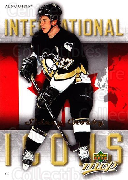 2006-07 Upper Deck MVP International Icons #20 Sidney Crosby<br/>1 In Stock - $5.00 each - <a href=https://centericecollectibles.foxycart.com/cart?name=2006-07%20Upper%20Deck%20MVP%20International%20Icons%20%2320%20Sidney%20Crosby...&price=$5.00&code=228714 class=foxycart> Buy it now! </a>