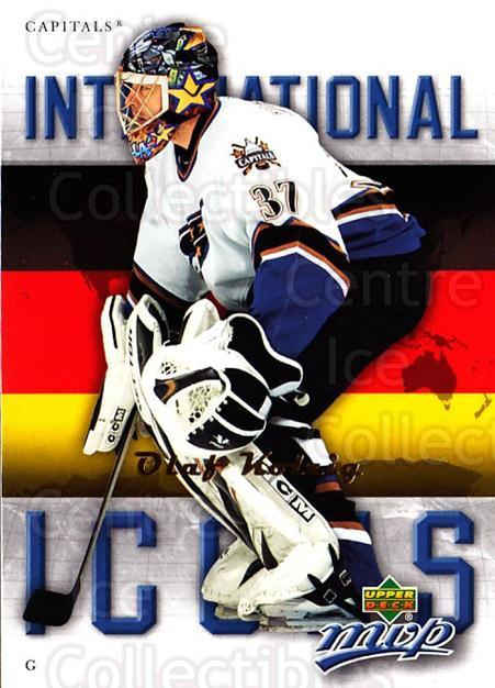 2006-07 Upper Deck MVP International Icons #25 Olaf Kolzig<br/>1 In Stock - $2.00 each - <a href=https://centericecollectibles.foxycart.com/cart?name=2006-07%20Upper%20Deck%20MVP%20International%20Icons%20%2325%20Olaf%20Kolzig...&quantity_max=1&price=$2.00&code=228719 class=foxycart> Buy it now! </a>