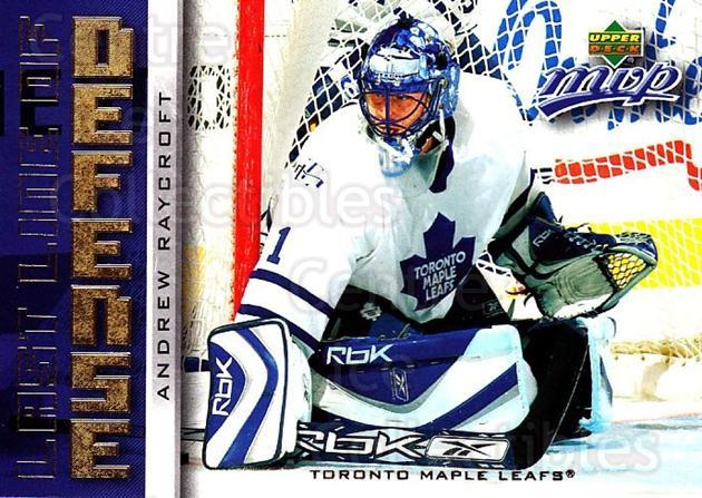 2006-07 Upper Deck MVP Last Line of Defense #22 Andrew Raycroft<br/>3 In Stock - $2.00 each - <a href=https://centericecollectibles.foxycart.com/cart?name=2006-07%20Upper%20Deck%20MVP%20Last%20Line%20of%20Defense%20%2322%20Andrew%20Raycroft...&quantity_max=3&price=$2.00&code=228741 class=foxycart> Buy it now! </a>