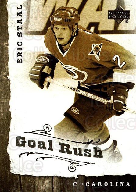 2006-07 Upper Deck Goal Rush #11 Eric Staal<br/>3 In Stock - $2.00 each - <a href=https://centericecollectibles.foxycart.com/cart?name=2006-07%20Upper%20Deck%20Goal%20Rush%20%2311%20Eric%20Staal...&quantity_max=3&price=$2.00&code=228769 class=foxycart> Buy it now! </a>