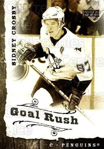 2006-07 Upper Deck Goal Rush #14 Sidney Crosby<br/>2 In Stock - $5.00 each - <a href=https://centericecollectibles.foxycart.com/cart?name=2006-07%20Upper%20Deck%20Goal%20Rush%20%2314%20Sidney%20Crosby...&quantity_max=2&price=$5.00&code=228772 class=foxycart> Buy it now! </a>
