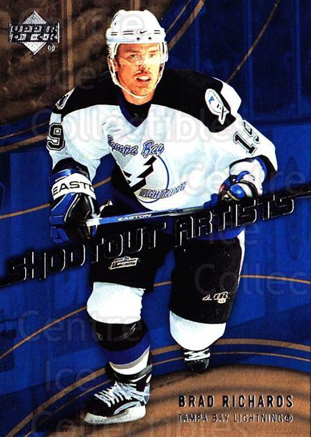 2006-07 Upper Deck Shootout Artists #3 Brad Richards<br/>8 In Stock - $2.00 each - <a href=https://centericecollectibles.foxycart.com/cart?name=2006-07%20Upper%20Deck%20Shootout%20Artists%20%233%20Brad%20Richards...&quantity_max=8&price=$2.00&code=228789 class=foxycart> Buy it now! </a>