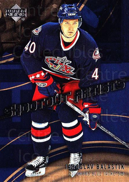 2006-07 Upper Deck Shootout Artists #13 Jaroslav Balastik<br/>2 In Stock - $2.00 each - <a href=https://centericecollectibles.foxycart.com/cart?name=2006-07%20Upper%20Deck%20Shootout%20Artists%20%2313%20Jaroslav%20Balast...&quantity_max=2&price=$2.00&code=228799 class=foxycart> Buy it now! </a>