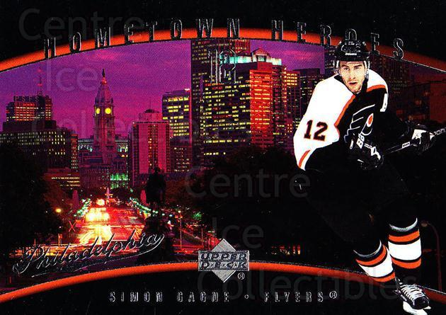 2006-07 Upper Deck Hometown Heroes #38 Simon Gagne<br/>9 In Stock - $2.00 each - <a href=https://centericecollectibles.foxycart.com/cart?name=2006-07%20Upper%20Deck%20Hometown%20Heroes%20%2338%20Simon%20Gagne...&quantity_max=9&price=$2.00&code=228810 class=foxycart> Buy it now! </a>