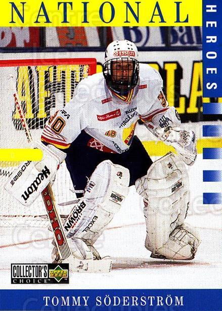 1997-98 Swedish Collectors Choice #199 Tommy Soderstrom<br/>1 In Stock - $2.00 each - <a href=https://centericecollectibles.foxycart.com/cart?name=1997-98%20Swedish%20Collectors%20Choice%20%23199%20Tommy%20Soderstro...&price=$2.00&code=229299 class=foxycart> Buy it now! </a>