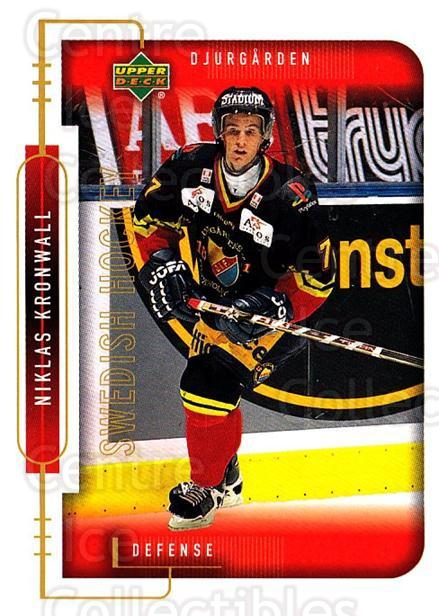 1999-00 Swedish Upper Deck #37 Niklas Kronwall<br/>2 In Stock - $3.00 each - <a href=https://centericecollectibles.foxycart.com/cart?name=1999-00%20Swedish%20Upper%20Deck%20%2337%20Niklas%20Kronwall...&price=$3.00&code=229307 class=foxycart> Buy it now! </a>