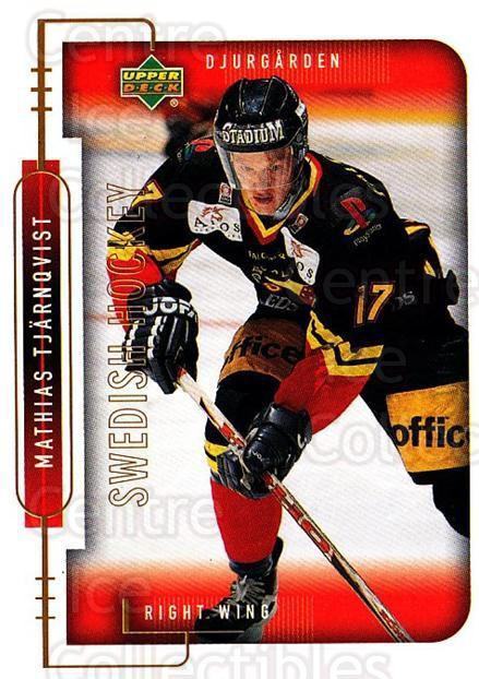 1999-00 Swedish Upper Deck #48 Mathias Tjarnqvist<br/>3 In Stock - $2.00 each - <a href=https://centericecollectibles.foxycart.com/cart?name=1999-00%20Swedish%20Upper%20Deck%20%2348%20Mathias%20Tjarnqv...&quantity_max=3&price=$2.00&code=229308 class=foxycart> Buy it now! </a>