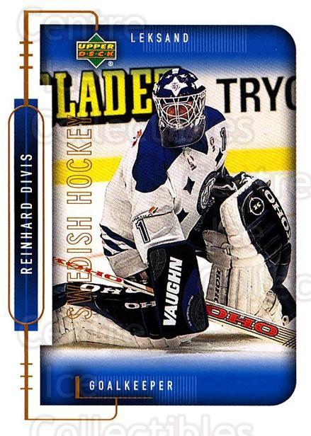 1999-00 Swedish Upper Deck #103 Reinhard Divis<br/>1 In Stock - $2.00 each - <a href=https://centericecollectibles.foxycart.com/cart?name=1999-00%20Swedish%20Upper%20Deck%20%23103%20Reinhard%20Divis...&quantity_max=1&price=$2.00&code=229311 class=foxycart> Buy it now! </a>