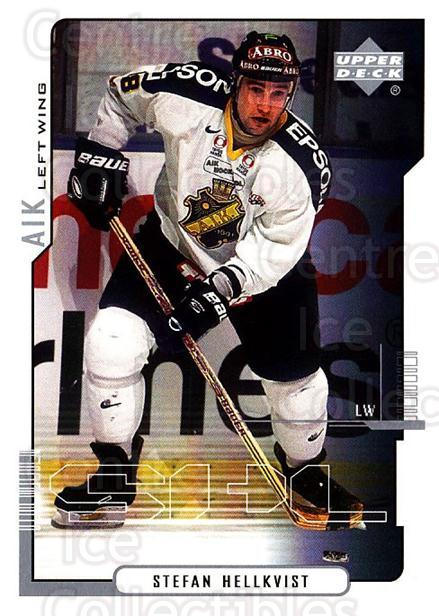2000-01 Swedish Upper Deck #9 Stefan Hellkvist<br/>4 In Stock - $2.00 each - <a href=https://centericecollectibles.foxycart.com/cart?name=2000-01%20Swedish%20Upper%20Deck%20%239%20Stefan%20Hellkvis...&quantity_max=4&price=$2.00&code=229322 class=foxycart> Buy it now! </a>