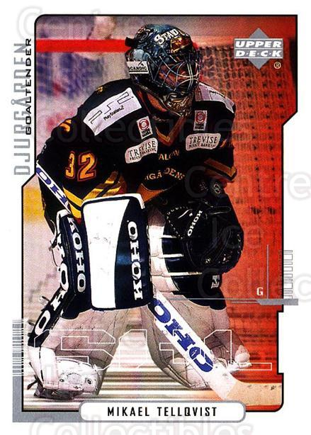 2000-01 Swedish Upper Deck #44 Mikael Tellqvist<br/>4 In Stock - $2.00 each - <a href=https://centericecollectibles.foxycart.com/cart?name=2000-01%20Swedish%20Upper%20Deck%20%2344%20Mikael%20Tellqvis...&price=$2.00&code=229332 class=foxycart> Buy it now! </a>