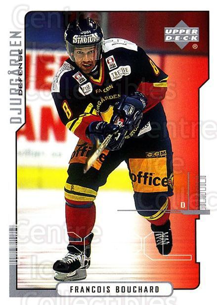 2000-01 Swedish Upper Deck #46 Francois Bouchard<br/>1 In Stock - $2.00 each - <a href=https://centericecollectibles.foxycart.com/cart?name=2000-01%20Swedish%20Upper%20Deck%20%2346%20Francois%20Boucha...&price=$2.00&code=229334 class=foxycart> Buy it now! </a>