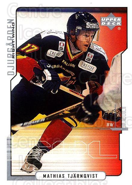 2000-01 Swedish Upper Deck #54 Mathias Tjarnqvist<br/>4 In Stock - $2.00 each - <a href=https://centericecollectibles.foxycart.com/cart?name=2000-01%20Swedish%20Upper%20Deck%20%2354%20Mathias%20Tjarnqv...&price=$2.00&code=229335 class=foxycart> Buy it now! </a>