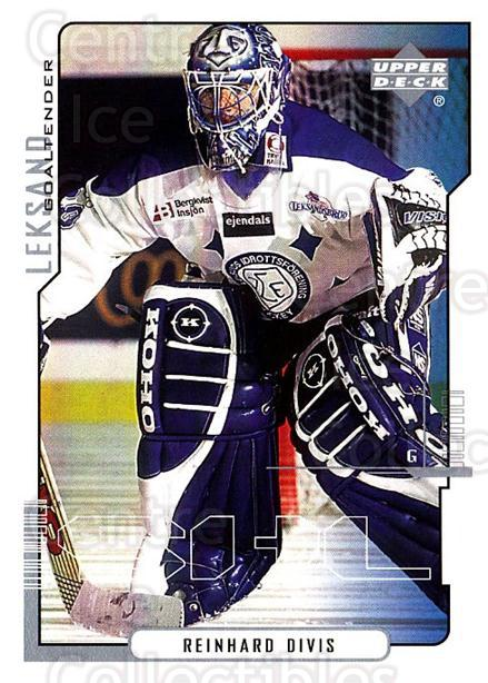 2000-01 Swedish Upper Deck #106 Reinhard Divis<br/>1 In Stock - $2.00 each - <a href=https://centericecollectibles.foxycart.com/cart?name=2000-01%20Swedish%20Upper%20Deck%20%23106%20Reinhard%20Divis...&quantity_max=1&price=$2.00&code=229344 class=foxycart> Buy it now! </a>