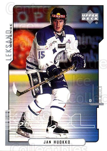 2000-01 Swedish Upper Deck #108 Jan Huokko<br/>4 In Stock - $2.00 each - <a href=https://centericecollectibles.foxycart.com/cart?name=2000-01%20Swedish%20Upper%20Deck%20%23108%20Jan%20Huokko...&quantity_max=4&price=$2.00&code=229345 class=foxycart> Buy it now! </a>