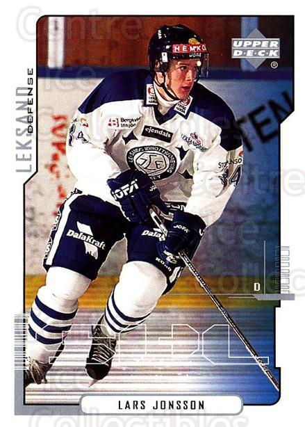 2000-01 Swedish Upper Deck #110 Lars Jonsson<br/>2 In Stock - $2.00 each - <a href=https://centericecollectibles.foxycart.com/cart?name=2000-01%20Swedish%20Upper%20Deck%20%23110%20Lars%20Jonsson...&quantity_max=2&price=$2.00&code=229346 class=foxycart> Buy it now! </a>