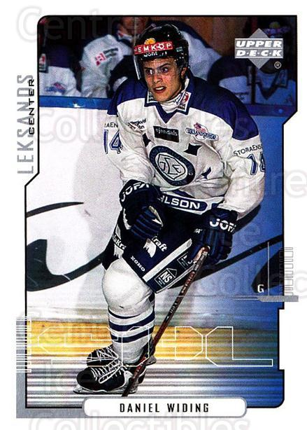 2000-01 Swedish Upper Deck #114 Daniel Widing<br/>2 In Stock - $2.00 each - <a href=https://centericecollectibles.foxycart.com/cart?name=2000-01%20Swedish%20Upper%20Deck%20%23114%20Daniel%20Widing...&quantity_max=2&price=$2.00&code=229347 class=foxycart> Buy it now! </a>