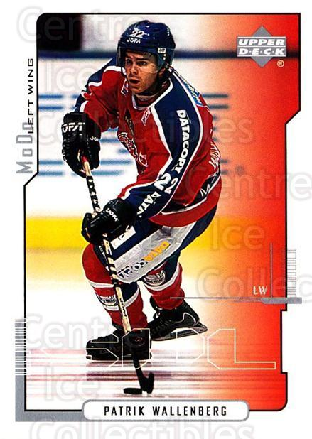 2000-01 Swedish Upper Deck #162 Patrik Wallenberg<br/>2 In Stock - $2.00 each - <a href=https://centericecollectibles.foxycart.com/cart?name=2000-01%20Swedish%20Upper%20Deck%20%23162%20Patrik%20Wallenbe...&quantity_max=2&price=$2.00&code=229351 class=foxycart> Buy it now! </a>
