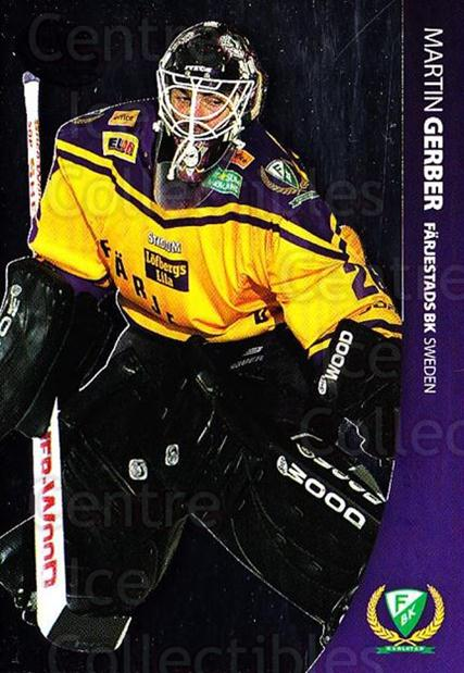 2004-05 Swedish Pure Skills #25 Martin Gerber<br/>2 In Stock - $2.00 each - <a href=https://centericecollectibles.foxycart.com/cart?name=2004-05%20Swedish%20Pure%20Skills%20%2325%20Martin%20Gerber...&quantity_max=2&price=$2.00&code=229405 class=foxycart> Buy it now! </a>