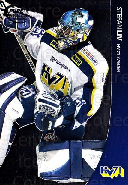 2004-05 Swedish Pure Skills #34 Stefan Liv<br/>1 In Stock - $2.00 each - <a href=https://centericecollectibles.foxycart.com/cart?name=2004-05%20Swedish%20Pure%20Skills%20%2334%20Stefan%20Liv...&quantity_max=1&price=$2.00&code=229407 class=foxycart> Buy it now! </a>