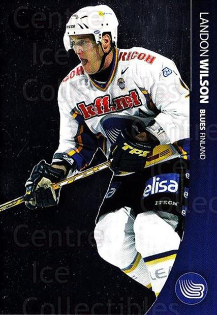 2004-05 Swedish Pure Skills #97 Landon Wilson<br/>3 In Stock - $2.00 each - <a href=https://centericecollectibles.foxycart.com/cart?name=2004-05%20Swedish%20Pure%20Skills%20%2397%20Landon%20Wilson...&quantity_max=3&price=$2.00&code=229413 class=foxycart> Buy it now! </a>
