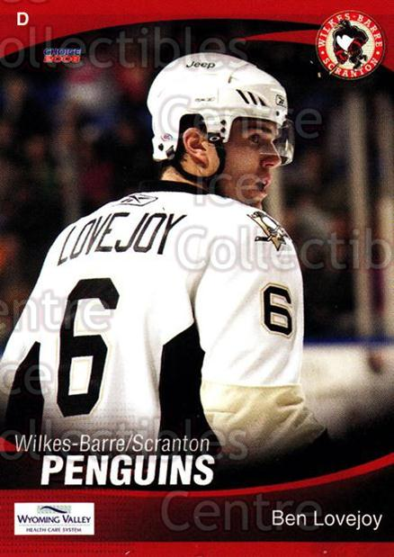 2007-08 Wilkes-Barre Scranton Penguins #18 Ben Lovejoy<br/>8 In Stock - $3.00 each - <a href=https://centericecollectibles.foxycart.com/cart?name=2007-08%20Wilkes-Barre%20Scranton%20Penguins%20%2318%20Ben%20Lovejoy...&quantity_max=8&price=$3.00&code=229532 class=foxycart> Buy it now! </a>