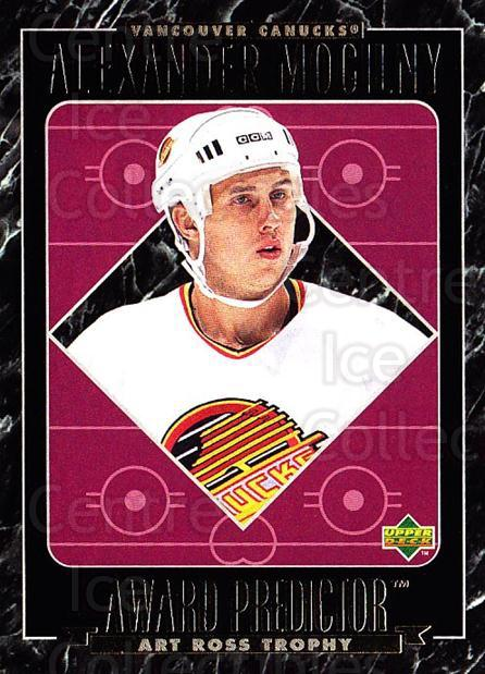1995-96 Upper Deck Predictor Retail Redeemed #RR35 Alexander Mogilny<br/>6 In Stock - $3.00 each - <a href=https://centericecollectibles.foxycart.com/cart?name=1995-96%20Upper%20Deck%20Predictor%20Retail%20Redeemed%20%23RR35%20Alexander%20Mogil...&quantity_max=6&price=$3.00&code=229634 class=foxycart> Buy it now! </a>