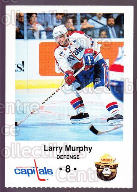 1988-89 Washington Capitals Smokey #15 Larry Murphy<br/>4 In Stock - $3.00 each - <a href=https://centericecollectibles.foxycart.com/cart?name=1988-89%20Washington%20Capitals%20Smokey%20%2315%20Larry%20Murphy...&quantity_max=4&price=$3.00&code=22977 class=foxycart> Buy it now! </a>