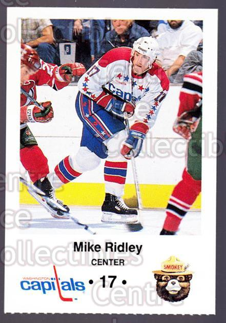 1988-89 Washington Capitals Smokey #20 Mike Ridley<br/>8 In Stock - $3.00 each - <a href=https://centericecollectibles.foxycart.com/cart?name=1988-89%20Washington%20Capitals%20Smokey%20%2320%20Mike%20Ridley...&quantity_max=8&price=$3.00&code=22983 class=foxycart> Buy it now! </a>