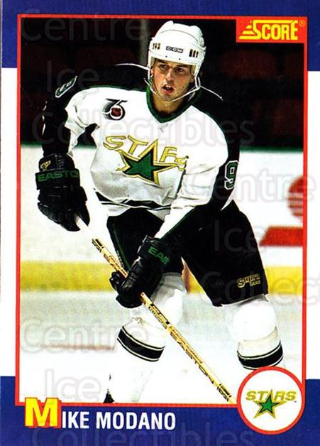 1991-92 Score Kelloggs #4 Mike Modano<br/>5 In Stock - $2.00 each - <a href=https://centericecollectibles.foxycart.com/cart?name=1991-92%20Score%20Kelloggs%20%234%20Mike%20Modano...&quantity_max=5&price=$2.00&code=229860 class=foxycart> Buy it now! </a>