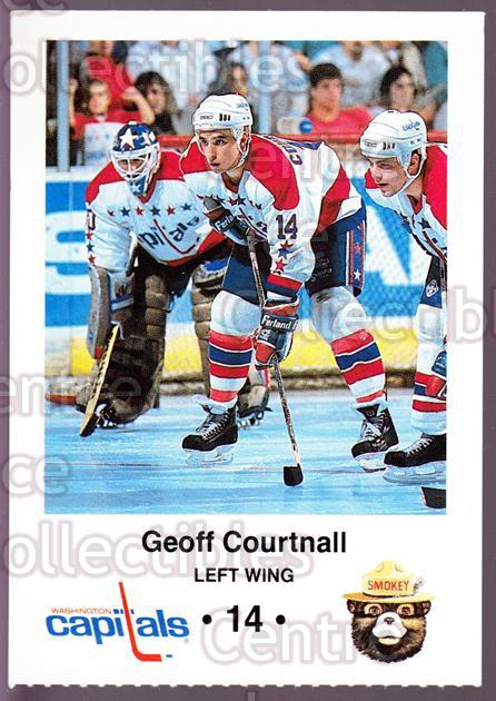 1988-89 Washington Capitals Smokey #3 Geoff Courtnall<br/>9 In Stock - $3.00 each - <a href=https://centericecollectibles.foxycart.com/cart?name=1988-89%20Washington%20Capitals%20Smokey%20%233%20Geoff%20Courtnall...&quantity_max=9&price=$3.00&code=22988 class=foxycart> Buy it now! </a>