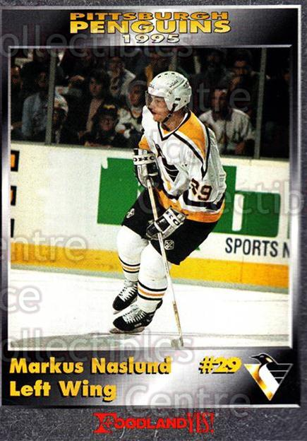 1994-95 Pittsburgh Penguins Foodland #15 Markus Naslund<br/>2 In Stock - $3.00 each - <a href=https://centericecollectibles.foxycart.com/cart?name=1994-95%20Pittsburgh%20Penguins%20Foodland%20%2315%20Markus%20Naslund...&quantity_max=2&price=$3.00&code=229896 class=foxycart> Buy it now! </a>
