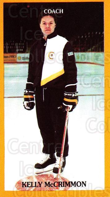 1990-91 Brandon Wheat Kings #7 Kelly McCrimmon<br/>3 In Stock - $3.00 each - <a href=https://centericecollectibles.foxycart.com/cart?name=1990-91%20Brandon%20Wheat%20Kings%20%237%20Kelly%20McCrimmon...&quantity_max=3&price=$3.00&code=229945 class=foxycart> Buy it now! </a>