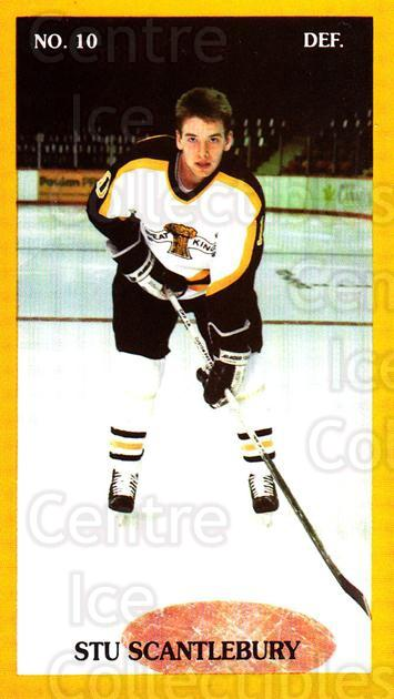 1990-91 Brandon Wheat Kings #17 Stu Scantlebury<br/>2 In Stock - $3.00 each - <a href=https://centericecollectibles.foxycart.com/cart?name=1990-91%20Brandon%20Wheat%20Kings%20%2317%20Stu%20Scantlebury...&quantity_max=2&price=$3.00&code=229948 class=foxycart> Buy it now! </a>