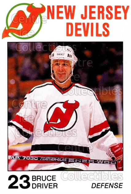 1988-89 New Jersey Devils Caretta #10 Bruce Driver<br/>7 In Stock - $3.00 each - <a href=https://centericecollectibles.foxycart.com/cart?name=1988-89%20New%20Jersey%20Devils%20Caretta%20%2310%20Bruce%20Driver...&quantity_max=7&price=$3.00&code=22994 class=foxycart> Buy it now! </a>
