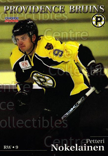 2007-08 Providence Bruins #12 Petteri Nokelainen<br/>6 In Stock - $3.00 each - <a href=https://centericecollectibles.foxycart.com/cart?name=2007-08%20Providence%20Bruins%20%2312%20Petteri%20Nokelai...&price=$3.00&code=230018 class=foxycart> Buy it now! </a>