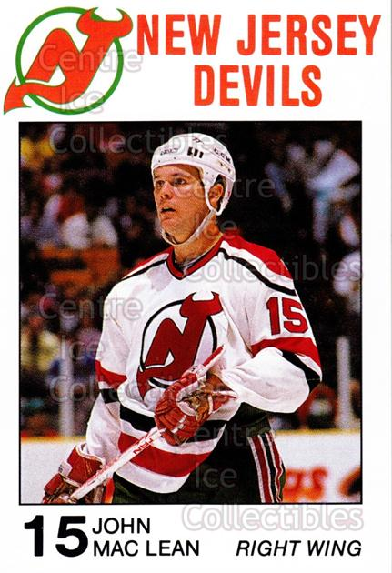 1988-89 New Jersey Devils Caretta #18 John MacLean<br/>7 In Stock - $3.00 each - <a href=https://centericecollectibles.foxycart.com/cart?name=1988-89%20New%20Jersey%20Devils%20Caretta%20%2318%20John%20MacLean...&quantity_max=7&price=$3.00&code=23002 class=foxycart> Buy it now! </a>