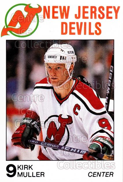 1988-89 New Jersey Devils Caretta #21 Kirk Muller<br/>6 In Stock - $3.00 each - <a href=https://centericecollectibles.foxycart.com/cart?name=1988-89%20New%20Jersey%20Devils%20Caretta%20%2321%20Kirk%20Muller...&quantity_max=6&price=$3.00&code=23006 class=foxycart> Buy it now! </a>