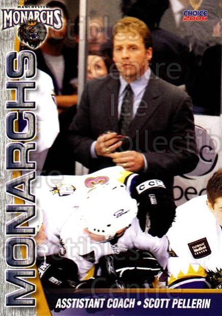 2006-07 Manchester Monarchs #23 Scott Pellerin<br/>5 In Stock - $3.00 each - <a href=https://centericecollectibles.foxycart.com/cart?name=2006-07%20Manchester%20Monarchs%20%2323%20Scott%20Pellerin...&quantity_max=5&price=$3.00&code=230079 class=foxycart> Buy it now! </a>