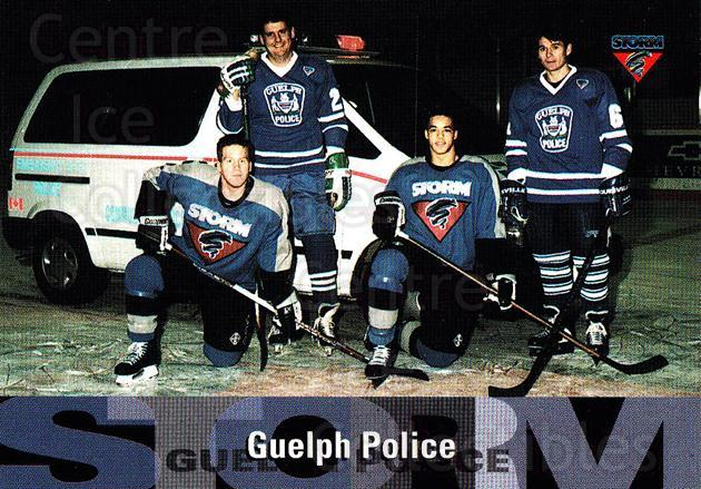 1996-97 Guelph Storm #32 Sponsor Card<br/>2 In Stock - $3.00 each - <a href=https://centericecollectibles.foxycart.com/cart?name=1996-97%20Guelph%20Storm%20%2332%20Sponsor%20Card...&quantity_max=2&price=$3.00&code=230219 class=foxycart> Buy it now! </a>