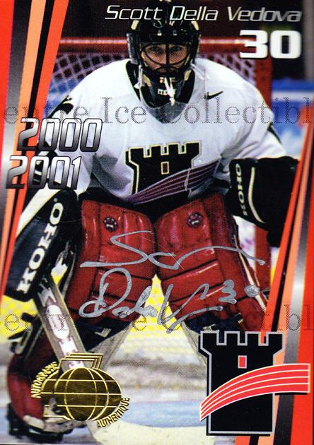 2000-01 Quebec Remparts Autographed #17 Scott Della Vedova<br/>4 In Stock - $5.00 each - <a href=https://centericecollectibles.foxycart.com/cart?name=2000-01%20Quebec%20Remparts%20Autographed%20%2317%20Scott%20Della%20Ved...&price=$5.00&code=230272 class=foxycart> Buy it now! </a>