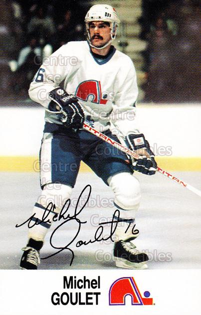 1988-89 Esso #14 Michel Goulet<br/>18 In Stock - $2.00 each - <a href=https://centericecollectibles.foxycart.com/cart?name=1988-89%20Esso%20%2314%20Michel%20Goulet...&quantity_max=18&price=$2.00&code=23027 class=foxycart> Buy it now! </a>