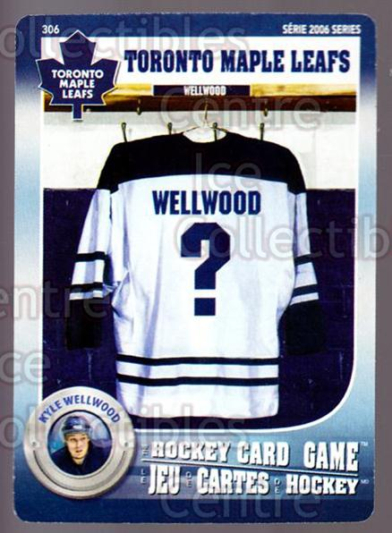2007-08 Toronto Maple Leafs Hockey Card Game #306 Kyle Wellwood<br/>5 In Stock - $3.00 each - <a href=https://centericecollectibles.foxycart.com/cart?name=2007-08%20Toronto%20Maple%20Leafs%20Hockey%20Card%20Game%20%23306%20Kyle%20Wellwood...&quantity_max=5&price=$3.00&code=230483 class=foxycart> Buy it now! </a>