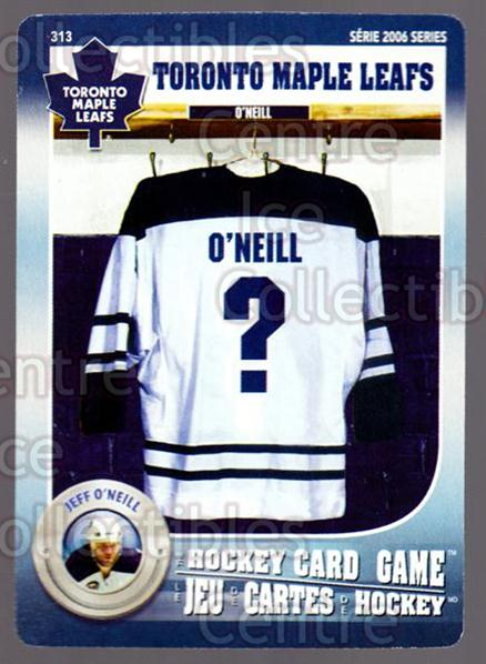 2007-08 Toronto Maple Leafs Hockey Card Game #313 Jeff O'Neill<br/>6 In Stock - $3.00 each - <a href=https://centericecollectibles.foxycart.com/cart?name=2007-08%20Toronto%20Maple%20Leafs%20Hockey%20Card%20Game%20%23313%20Jeff%20O'Neill...&quantity_max=6&price=$3.00&code=230490 class=foxycart> Buy it now! </a>
